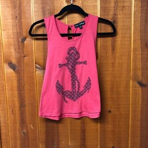 Light Red Anchor Tank